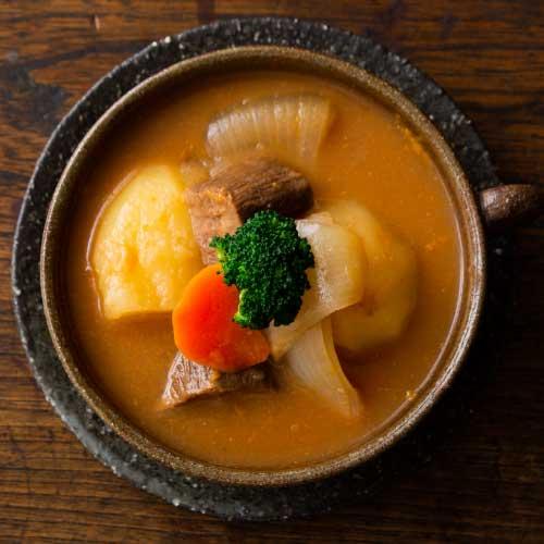 牛タン味噌シチュー