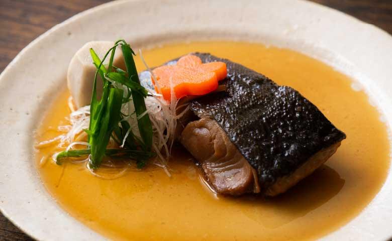 銀鱈の煮つけ